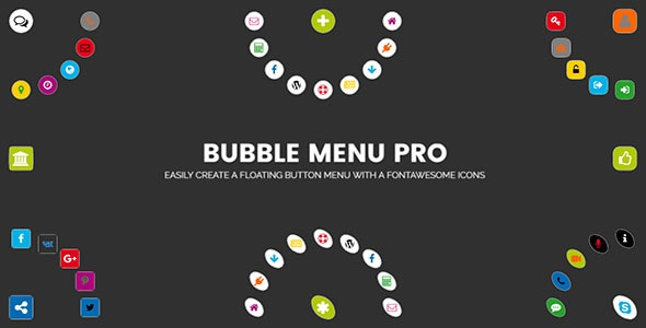 Download Bubble Menu Pro v2.0 - Creating awesome circle menu with icons Free / Nulled