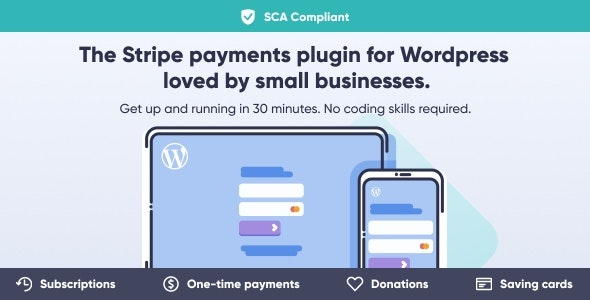 Download WP Full Stripe v5.4.0 - WordPress Plugin Free / Nulled
