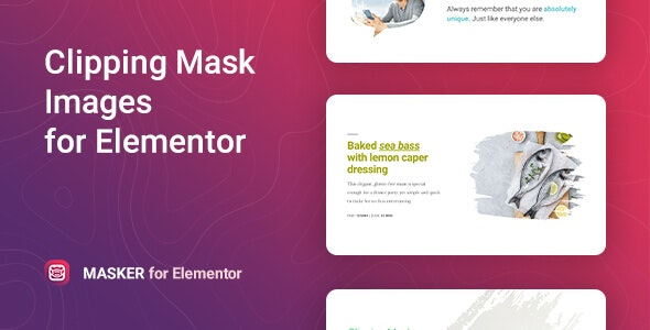 Download Masker v1.0.0 - Clipping Mask for Elementor Free / Nulled