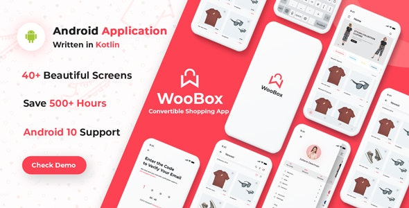 Download WooBox  viqonicdesign - WooCommerce Android App E-commerce Full Mobile App + kotlin Free / Nulled