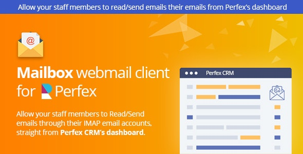 Download Mailbox v1.0f - Webmail client for Perfex CRM Free / Nulled