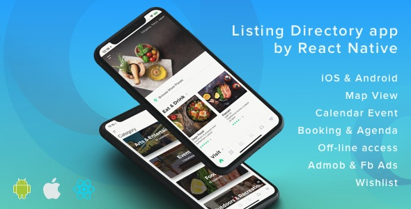 Download ListApp v1.7.5 - Listing Directory mobile app by React Native (Expo version) Free / Nulled