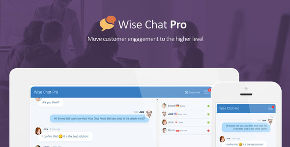 Download Wise Chat Pro v2.3.1 - WP Plugin Free / Nulled