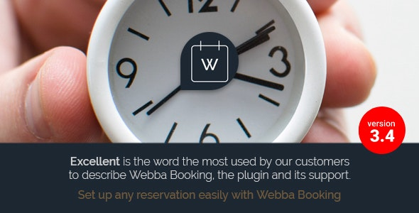 Download Webba Booking v3.8.28 - WordPress Appointment & Reservation plugin Free / Nulled