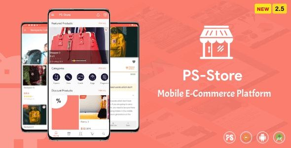 Download PS Store v2.5 - Mobile eCommerce App for Every Business Owner Free / Nulled