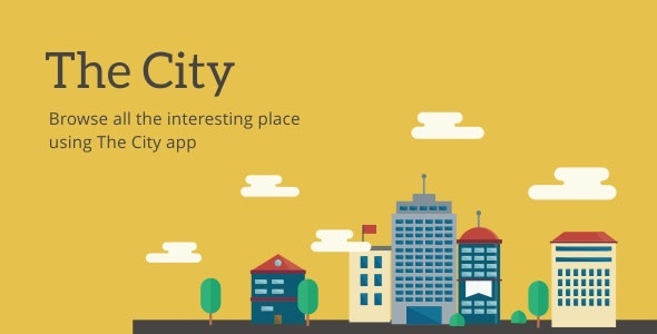 Download The City v7.0 - Place App with Backend Free / Nulled