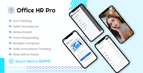 Download Office HR Pro v1.0 - Live tracking app + Web Admin Panel Free / Nulled