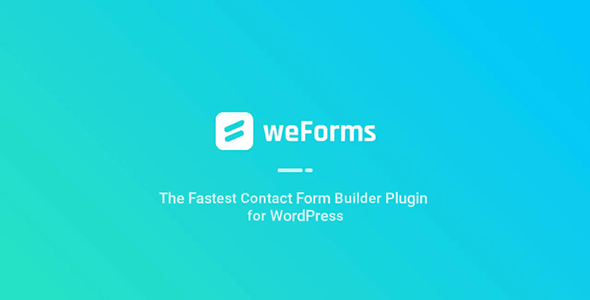 Download weForms Pro v1.3.10 - Experience a Faster Way of Creating Forms Free / Nulled