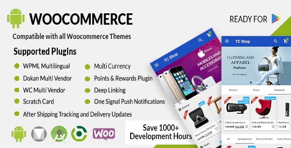 Download Android Woocommerce v1.9.3 - Universal Native Android Ecommerce / Store Full Mobile Application Free / Nulled
