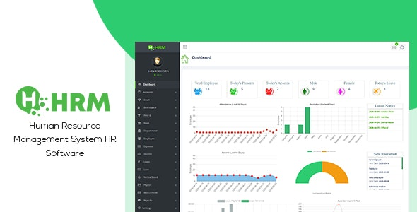 Download HR Manager v4.0 - Human Resource Management System HR Software (HRMS) - nulled Free / Nulled