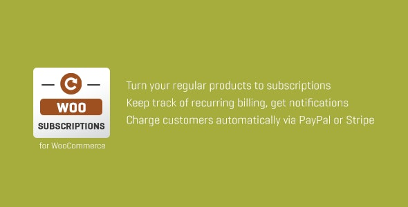 Download Subscriptio  v3.0.4 - WooCommerce Subscriptions Free / Nulled