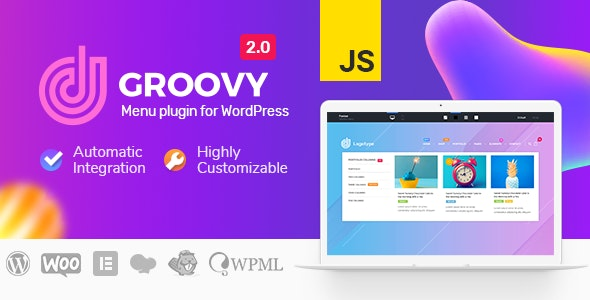 Download Groovy Menu v2.0.9.2 - WordPress Mega Menu Plugin Free / Nulled