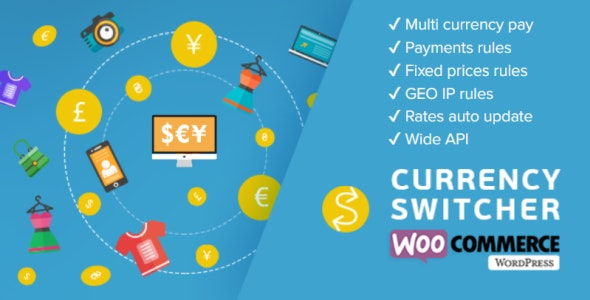 Download WOOCS - WooCommerce Currency Switcher v2.3.2 - WooCommerce Multi Currency and WooCommerce Multi Pay Free / Nulled