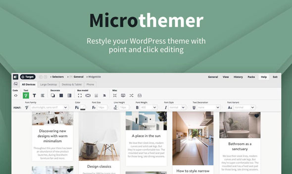 Download MicroThemer v6.1.5.7 - WordPress CSS Editor Free / Nulled