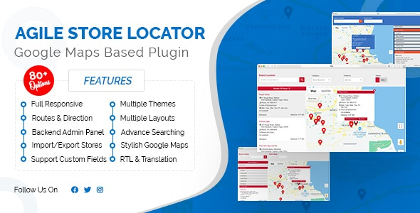 Download Store Locator (Google Maps) For WordPress v4.6.6 - WP Plugin Free / Nulled