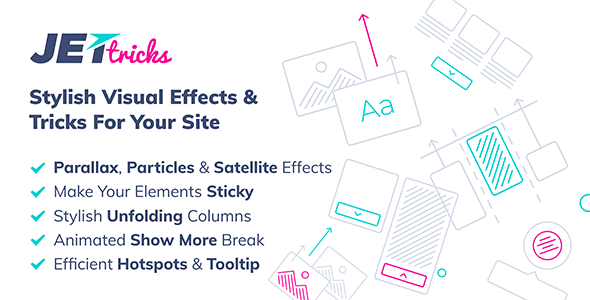 Download JetTricks v1.2.9 - Visual Effects Addon for Elementor Free / Nulled