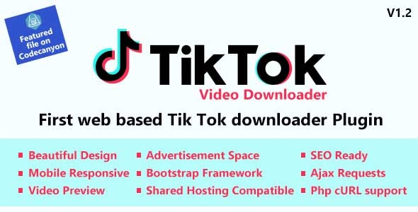 Download TikTok Video and Music Downloader with no Watermark v1.0 - Nulled Free / Nulled