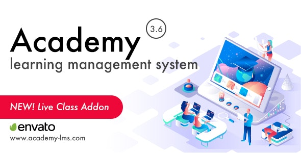 Download Academy Learning Management System v3.6 - nulled Free / Nulled
