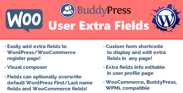 Download User Extra Fields v14.8 - WP Plugin Free / Nulled