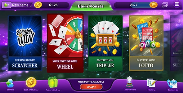 Download MintReward v1.0.5 - gaming edition of rewards app incl Backend Free / Nulled