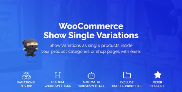 Download WooCommerce Show Variations as Single Products v1.1.11 - WooCommerce plugin Free / Nulled