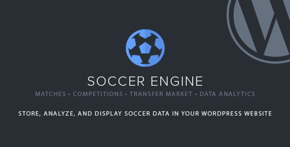 Download Soccer Engine v1.16 - WP Plugin Free / Nulled