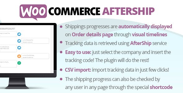 Download WooCommerce AfterShip v6.2 - WooCommerce plugin Free / Nulled