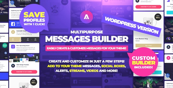 Download Asgard v1.1.5 - Multipurpose Messages and Social Builder Plugin Free / Nulled