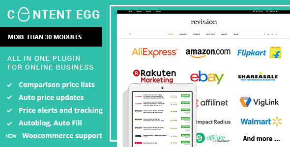 Download Content Egg v6.7.0 - all in one plugin for Affiliate Free / Nulled
