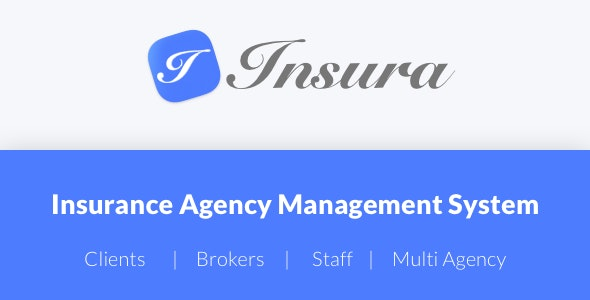 Download Insura  v2.0.4 - Insurance Agency Management System Free / Nulled