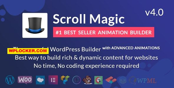 Download Scroll Magic v4.0.2 - Scrolling Animation Builder Plugin Free / Nulled