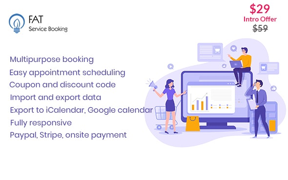 Download Fat Services Booking  v2.2 - Automated Booking and Online Scheduling Free / Nulled