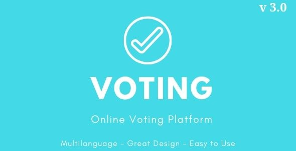 Download Voting v3.0 - Online Voting Platform Free / Nulled