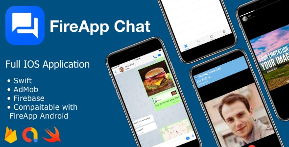 Download FireApp Chat IOS v1.0 - Chatting App for IOS - Inspired by WhatsApp Free / Nulled