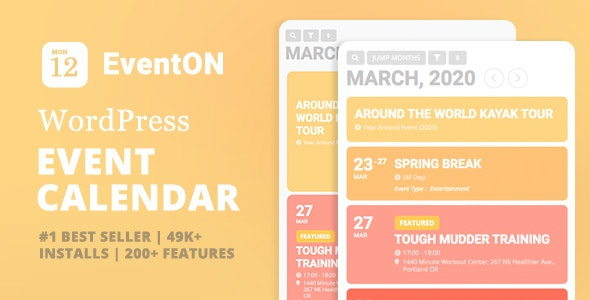 Download EventOn v2.8.9 - + Addons Free / Nulled