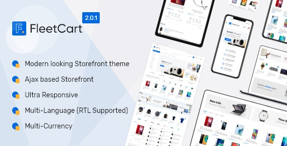 Download FleetCart  v2.0.0 - Laravel Ecommerce System - nulled Free / Nulled