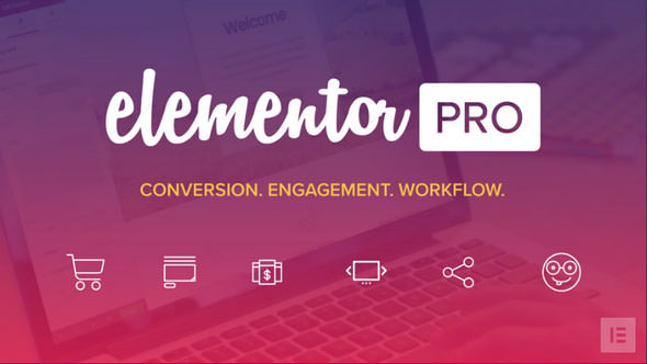 Download Elementor Pro v2.9.5 - Conversion. Engagement, Workflow. Free / Nulled