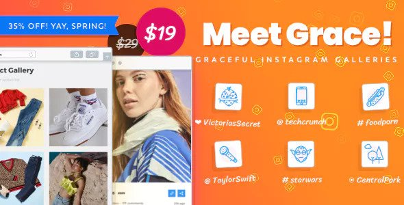 Download Instagram Feed Gallery - Grace for WordPress v1.1.14 - WP Plugin Free / Nulled