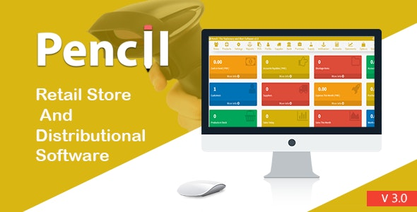 Download Pencil v3.0 - The Retail Store and Distribution Software Free / Nulled