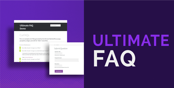 Download Ultimate FAQ v1.9.2 - WP Plugin Free / Nulled