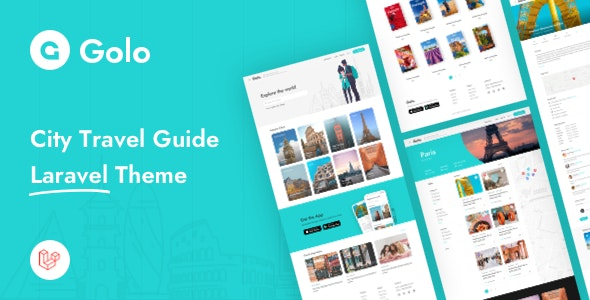 Download Golo v1.1.3 - City Travel Guide Laravel Theme Free / Nulled