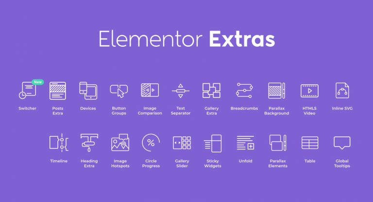 Download Elementor Extras v2.2.30 - Do more with Elementor Free / Nulled