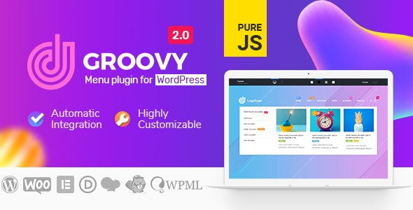 Download Groovy Menu v2.0.15 - WordPress Mega Menu Plugin Free / Nulled