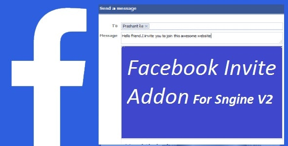 Download Facebook Invite Addon For Sngine v2.6 - Nulled Free / Nulled