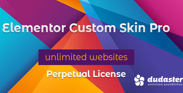 Download Elementor Custom Skin Pro v2.1.0 - Nulled Free / Nulled