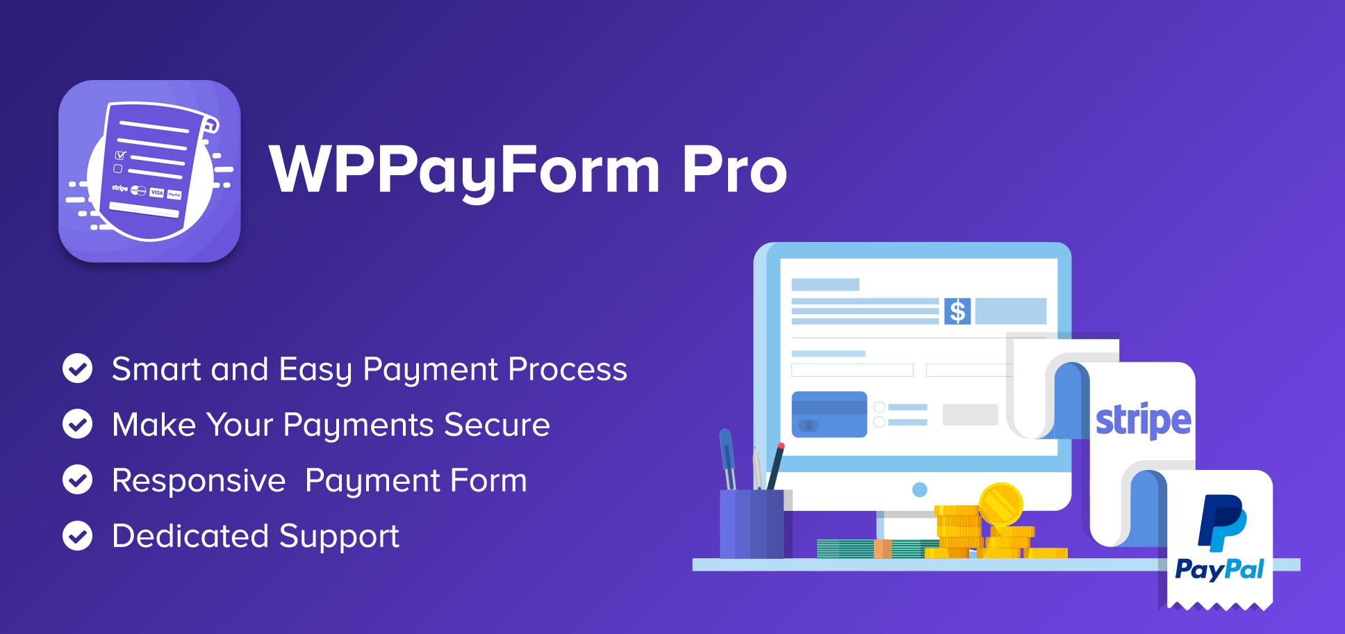 Download WPPayForm Pro v1.9.91 - WordPress Payments Made Simple Free / Nulled