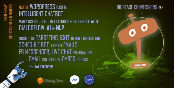 Download ChatBot for WordPress v9.9.7 - WP Plugin Free / Nulled