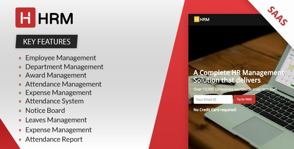 Download HRM SAAS v4.1.1 - Human Resource Management Free / Nulled