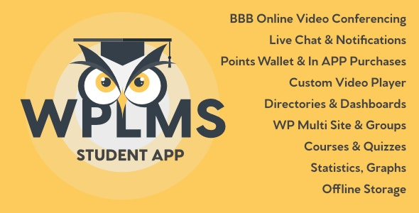 Download WPLMS Learning Management System App for Education & eLearning v3.0 - Mobile App Free / Nulled