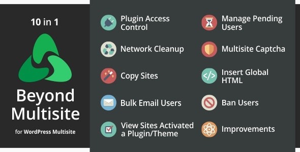 Download Beyond Multisite v1.11.0 - Utilities for WordPress Network Admins Free / Nulled